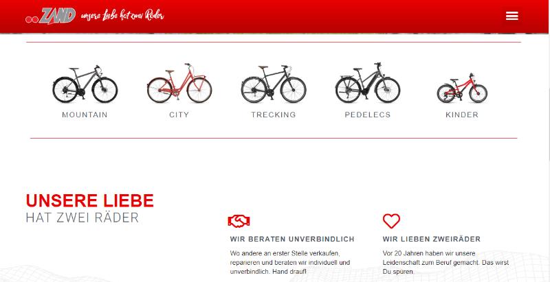 Image of Zweiradtreff Zand in Straelen bei Kleve: Modernes E-Bike für großartigen Fahrspaß